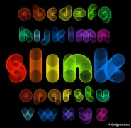 Creative letters designed 01   vector material