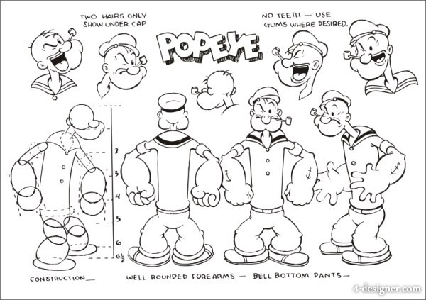 Popeye official who set up vector a