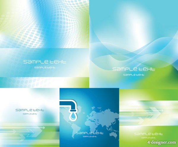 A dream dynamic background vector material