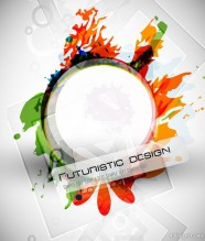 Abstract design elements 02 vector material
