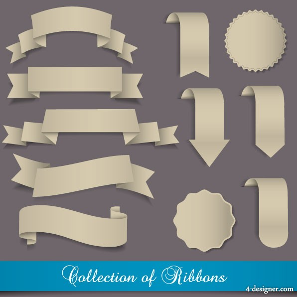 Badges marked Sticker Design 01 vector material