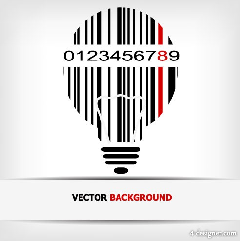 Barcode background Vector 03   Vector