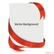 Beautiful background plate   Vector