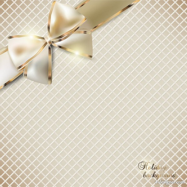Beautiful butterfly knot invitations 02 vector material