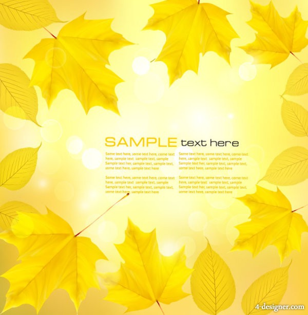 Beautiful woods in the background 01   vector material