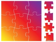 Brilliant puzzle 03   vector material