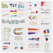 Business Information elements 05   vector material