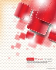 Checkered background Vector material