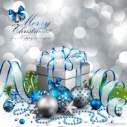 Christmas beautiful background vector material 04   vector material