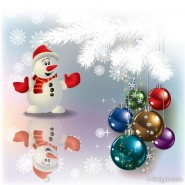 Christmas decorations vector material 03   Vector