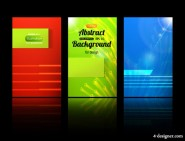 Classic card background 03   vector material