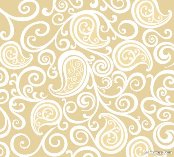 Classic pattern background 05   vector material