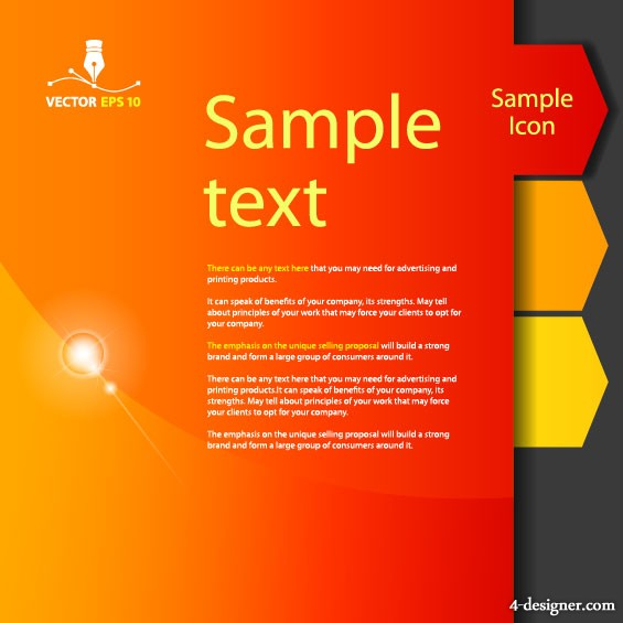 Color labels 01   vector material