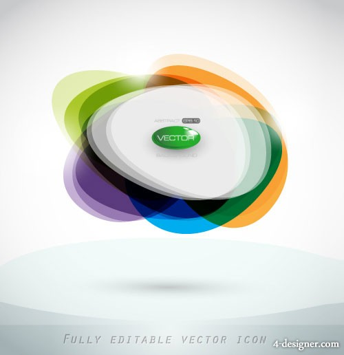 Colorful dynamic background pattern 05   Vector