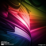 Colorful eye catching dynamic glare 03   Vector