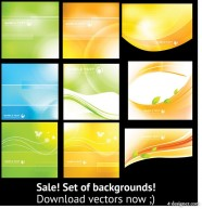 Colorful mobile background Vector
