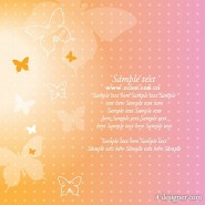 Dream butterfly background vector material