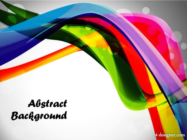 Dynamic trend Background 02   vector material