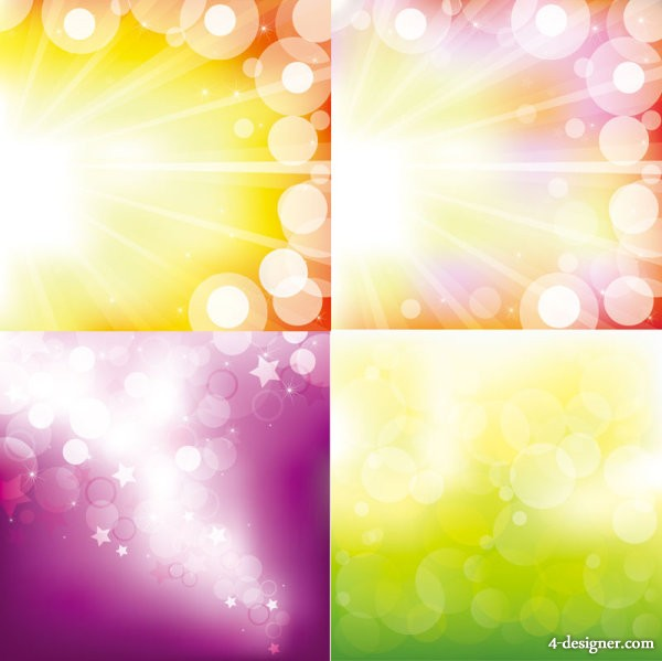 Gorgeous starry background   vector material