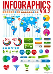 Information graphics 02   vector material