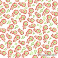 Small flower tiled background vector material