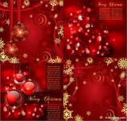 The gorgeous bright Christmas background pattern   Vector