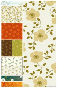 The mellow background pattern   Vector
