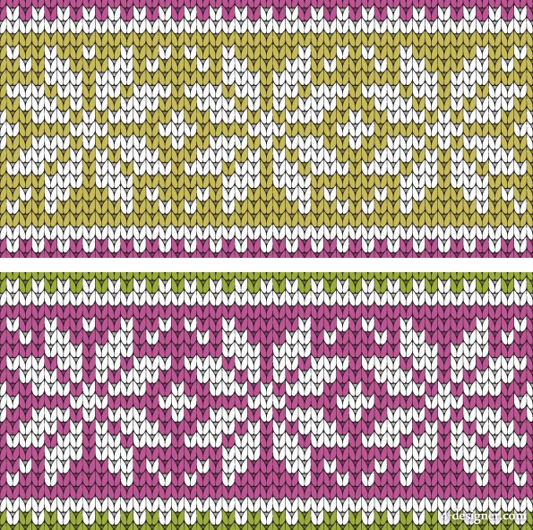 The sweater texture background vector material  1