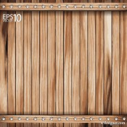 The wooden background 01   vector material