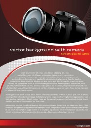 Trend camera background Vector 02   Vector