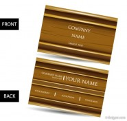 Vector business card template 01 vector material
