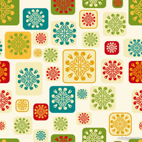 Vector pattern background 04   vector material