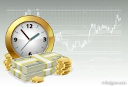 Watches and money Vector