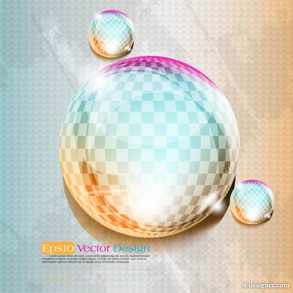 dynamic halo background vector material 03   Vector