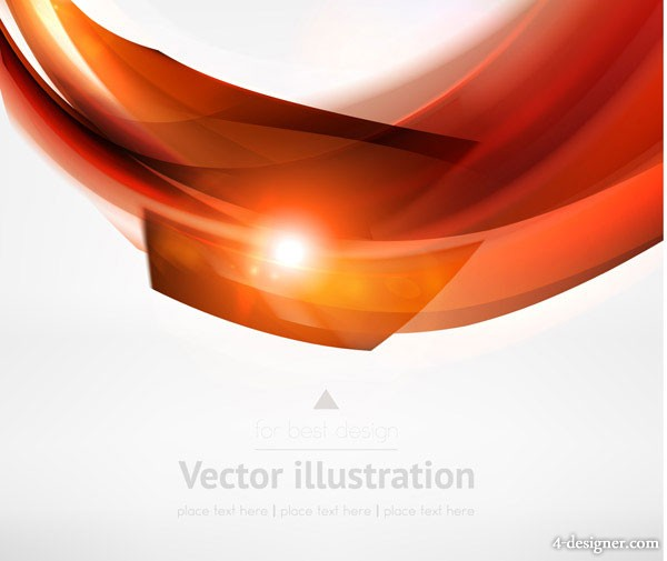 dynamic lines background vector material  4