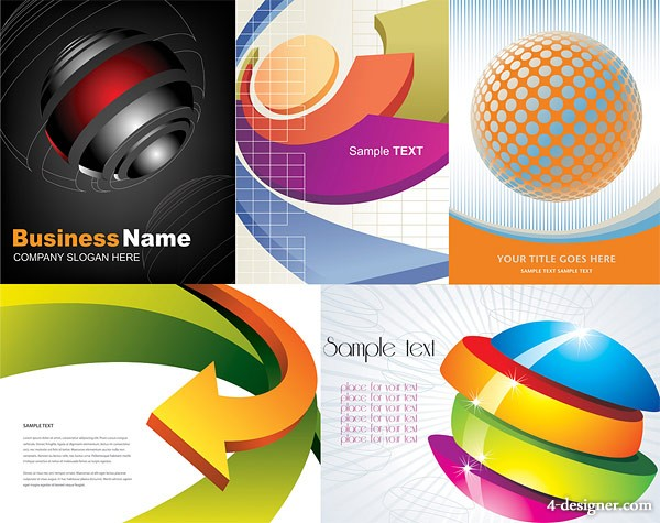 3D graphics background vector material