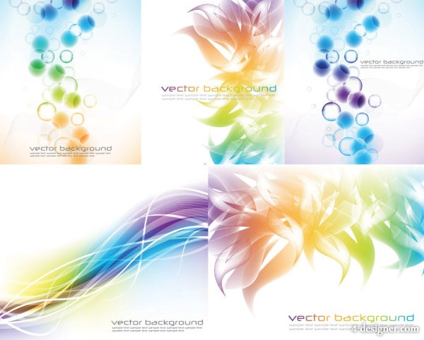 5 paragraph Symphony background vector material