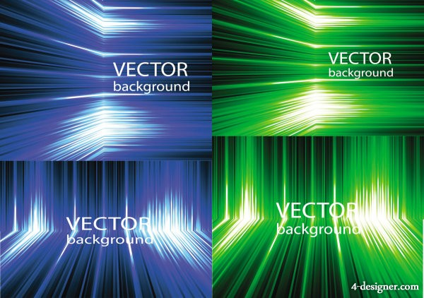 Abstract dynamic background Vector Vector