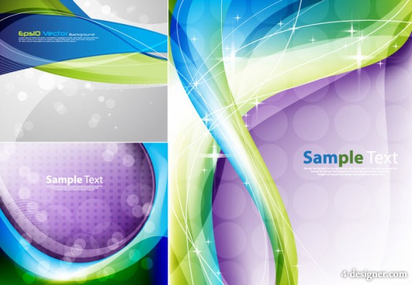 Ambilight background vector material