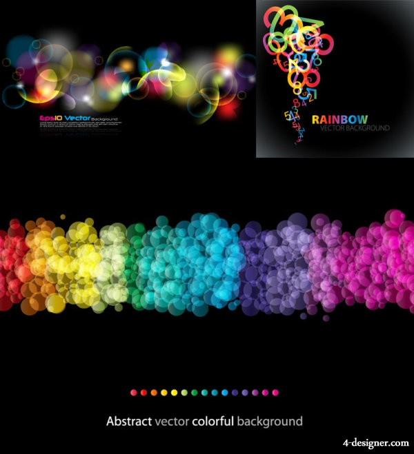 Beautiful Symphony background vector material