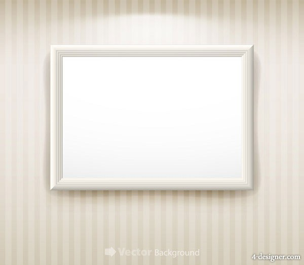 Blank picture frame vector material 1