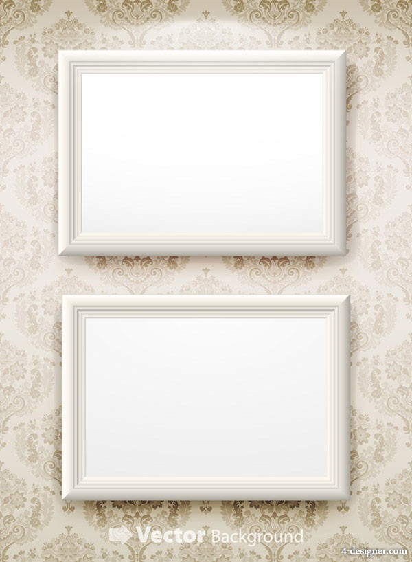 Blank picture frame vector material 2
