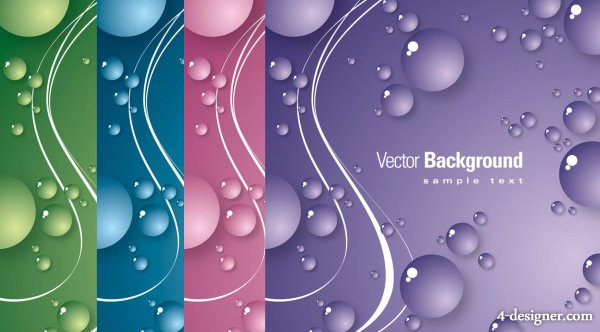 Blisters background vector material