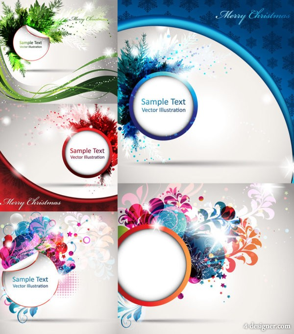 Colorful pattern background Vector