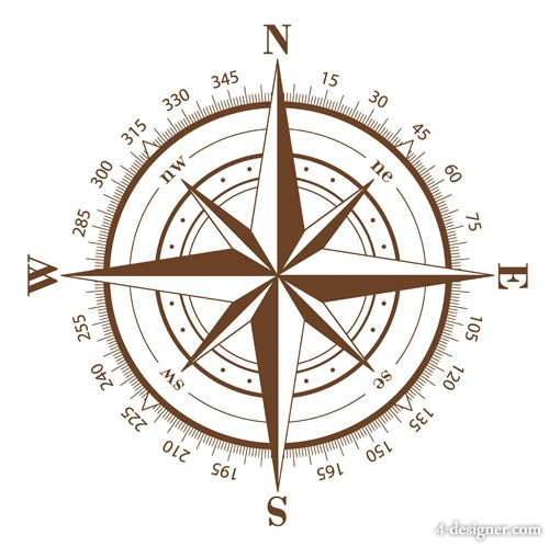 Compass vector material