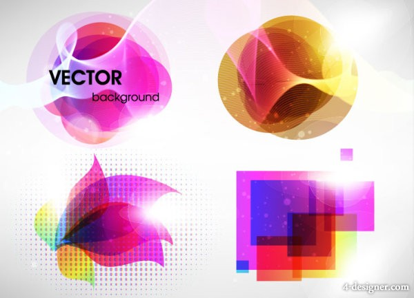 Cool Symphony graphics vector material