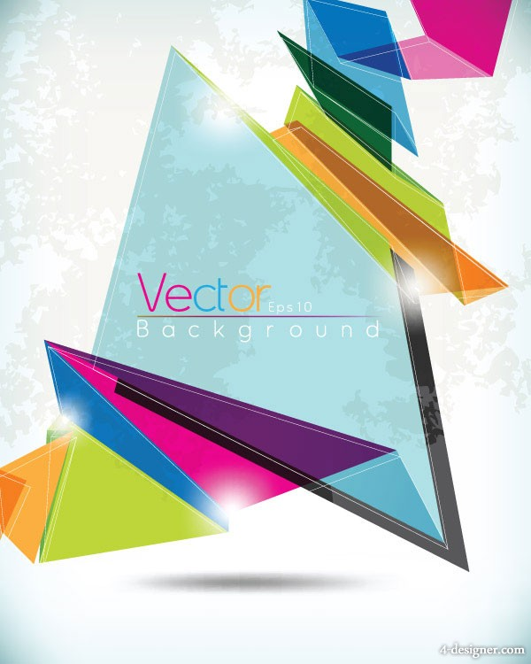 Glare irregular background vector material 2 Vector