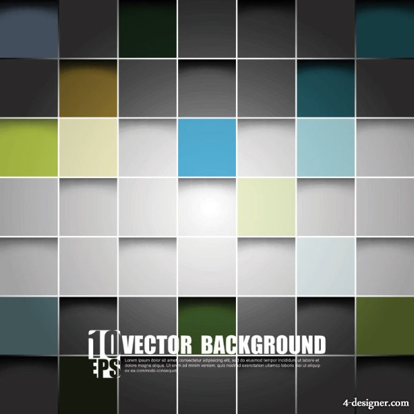 Gorgeous box background 01 vector material