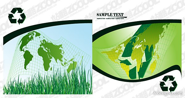 Map of the world body vector material