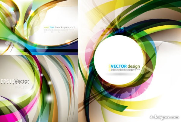 Messy dynamic background vector material